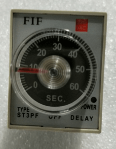 fif stepf time relay