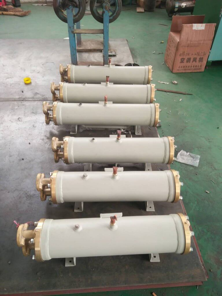 sea water condenser FOR CLD