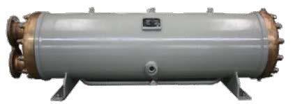 shell sea water condenser