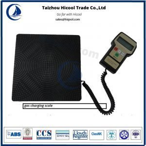 gas charging scale